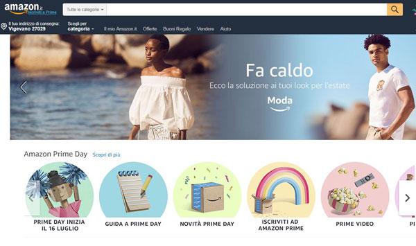Informazioni di acquisto? Italiani tutti su Amazon