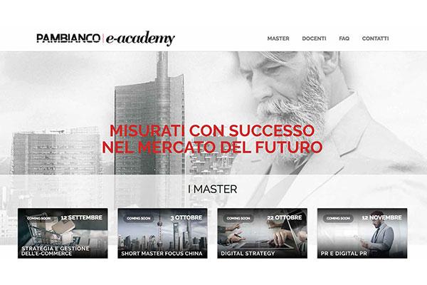 Pambianco e-academy scalda i motori per l'autunno
