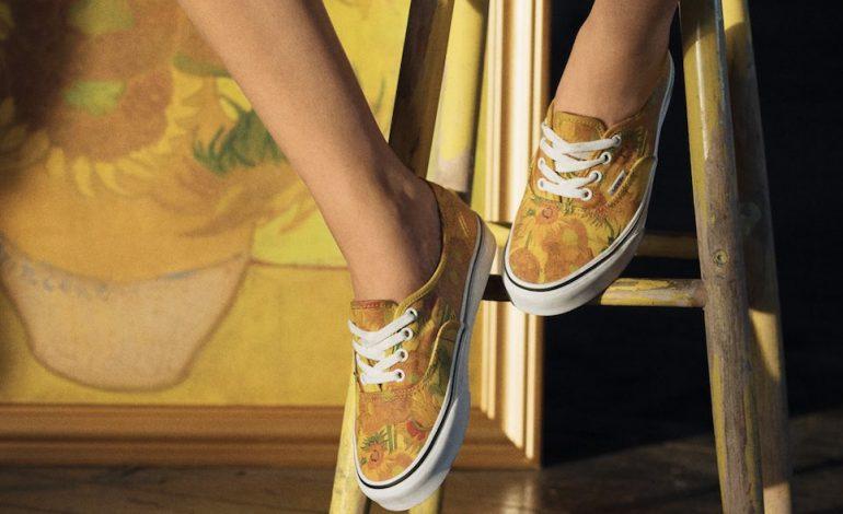 scarpe vans girasoli