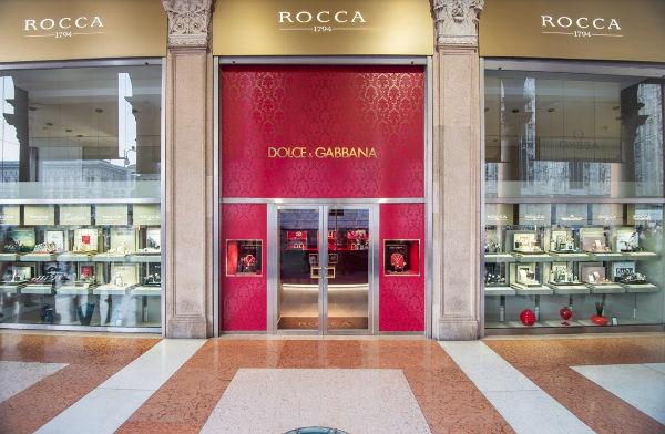 Dolce & Gabbana, gioielli e orologi approdano da Rocca