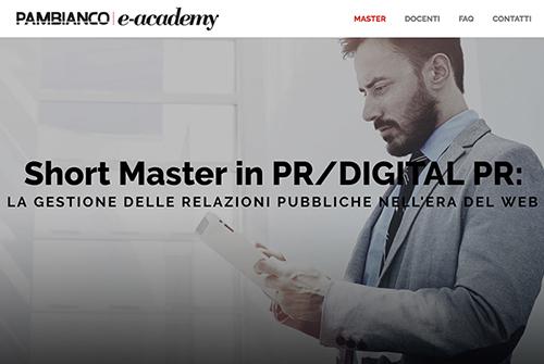 Al via lo short master in PR e Digital PR