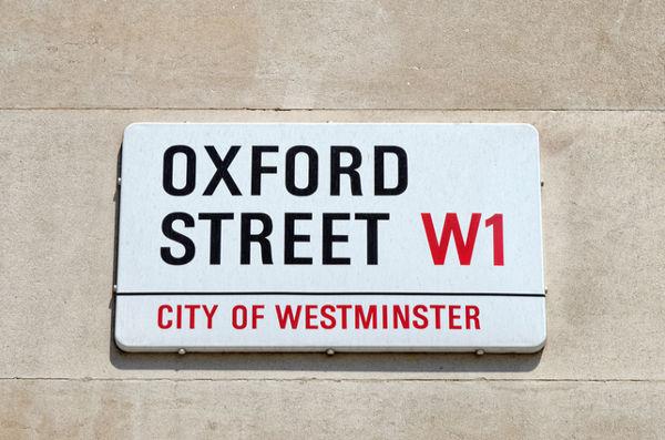 """Oxford Street vuole essere a """"zero emissioni"""""""