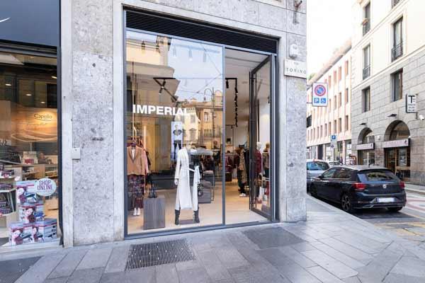 Imperial, a Milano il primo store in centro città