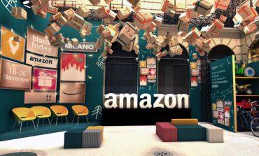 Amazon, il primo pop-up italiano è a Milano