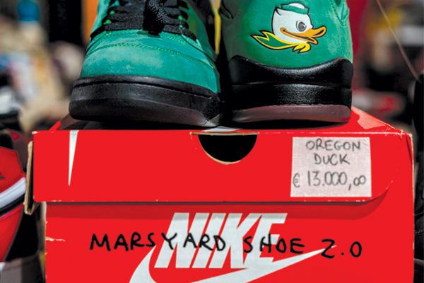 Sneakers everywhere