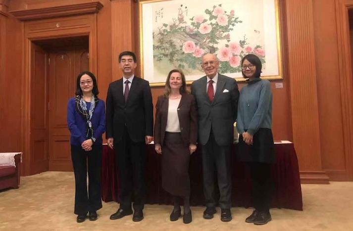 Boselli firma il rinnovo del protocollo Italia-Cina