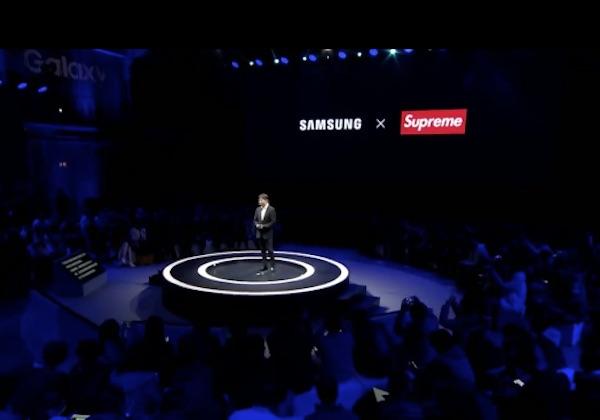 Samsung con Supreme. Ma quella di Barletta