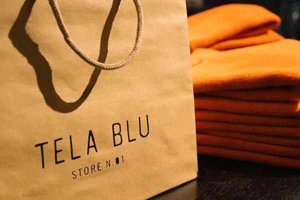 Primo negozio fisico per il nativo digitale Tela Blu