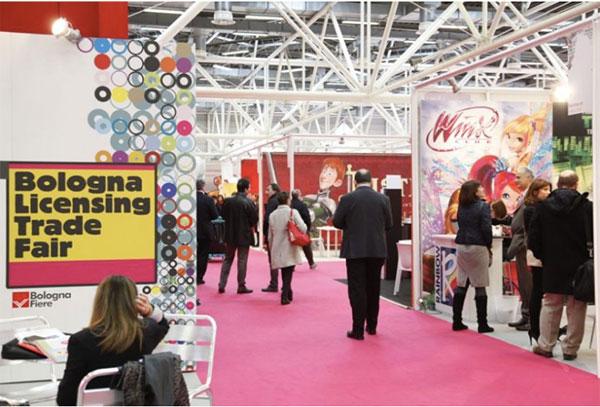 Bologna Licensing Trade Fair scalda i motori