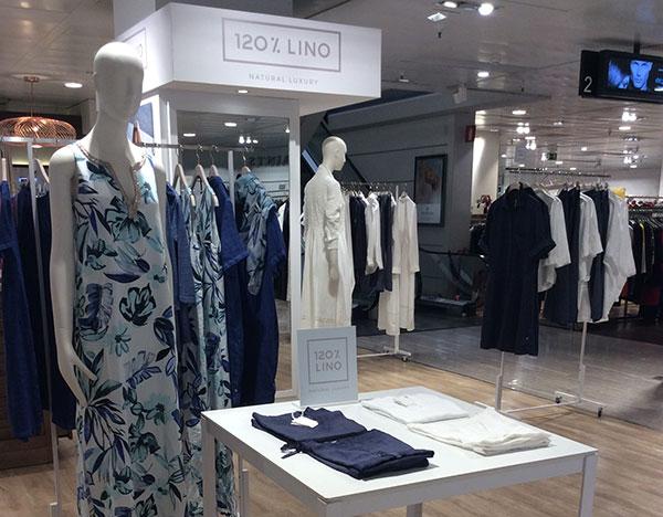 120% Lino sbarca in Spagna con il primo store
