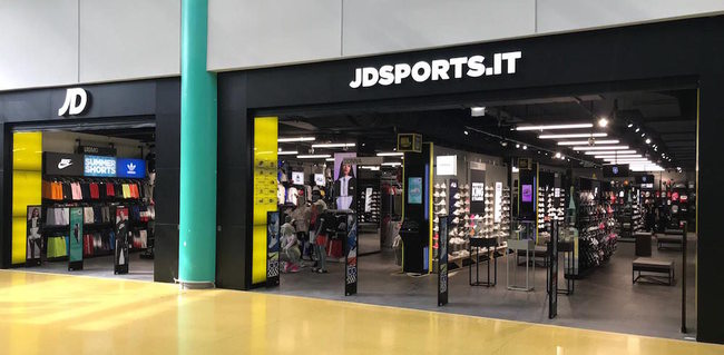 JD Sports, 7 aperture in Italia nel 2019