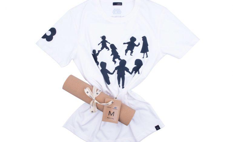 Lardini, una t-shirt per la Lega del Filo d'Oro