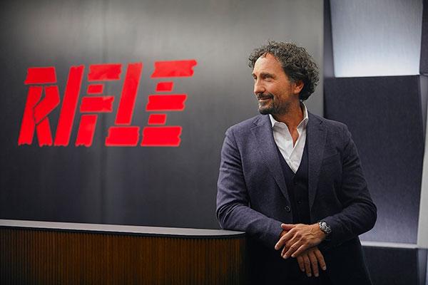 Rifle, licenza footwear con Sport Commerce Italia