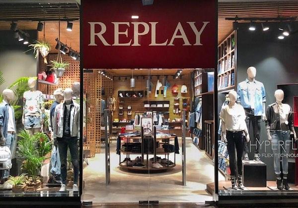 Replay sbarca in India col primo negozio