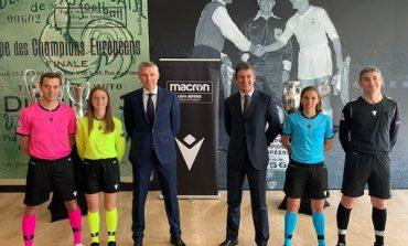 Macron veste gli arbitri della Uefa
