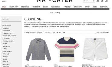 Mr Porter, la logistica mondiale arriva a Milano