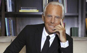 La moda inglese premia Giorgio Armani