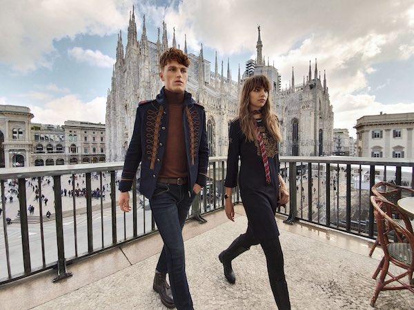 La Martina scatta a Milano con Samsung