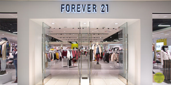 Forever 21 chiede il Chapter 11