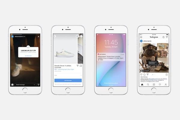 Instagram lancia 'notifiche' sulle novità di shopping