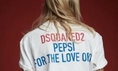 Dsquared2 celebra l'heritage di Pepsi