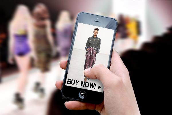 A New York debutta la app 'see now-buy now'