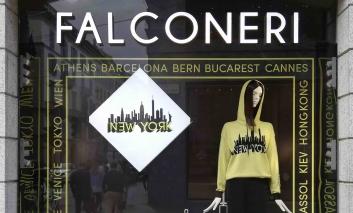 Falconeri inaugura il primo store americano