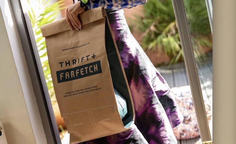 Farfetch spinge lo sviluppo del second hand
