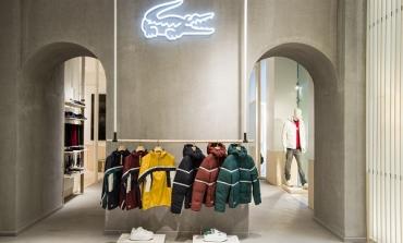 Lacoste presenta il nuovo concept retail