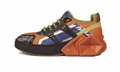 David Tourniaire-Beauciel colora le sneakers Hide&Jack
