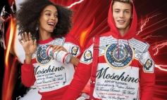 Moschino svela la capsule con la birra Budweiser