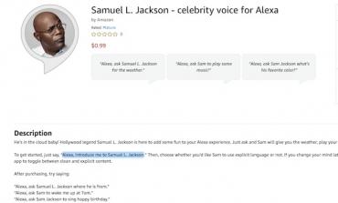 Alexa ora parla con la voce di Samuel L. Jackson