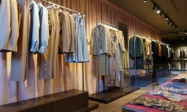 Lardini, ad Anversa il primo store uomo e donna