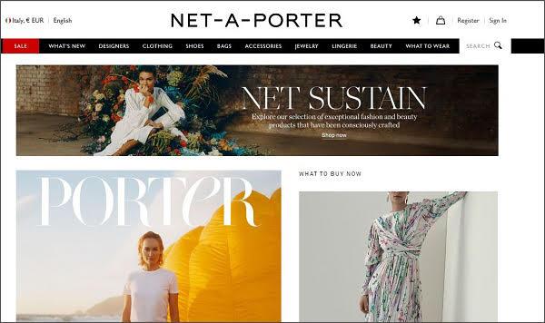 Net-a-Porter, rosso di 10,5 mln £ a marzo 2019