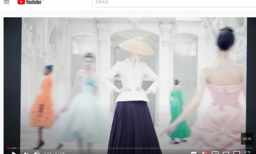 La mostra di Dior approda su YouTube