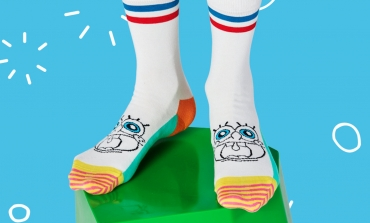 Happy Socks va in vacanza con SpongeBob