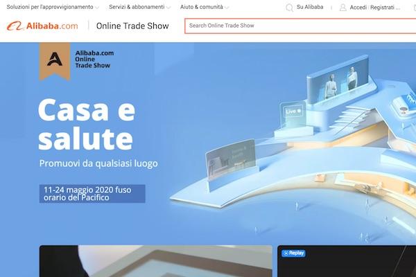 Alibaba presenta la sua prima fiera online globale