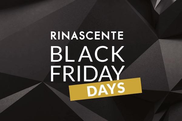 Rinascente anticipa i saldi con i Black Friday Days