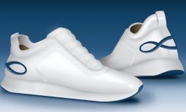 Almini sceglie le sneaker di Acosta (Accademia del Lusso)