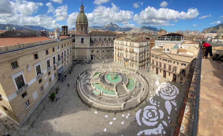 Palermo, l'omaggio di Cruciani a Santa Rosalia
