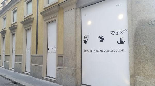 Off-White, primo monomarca a Milano