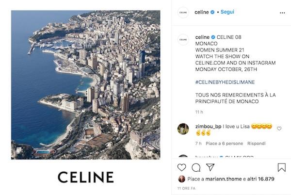 Celine, la P/E 2021 debutta il 26 ottobre