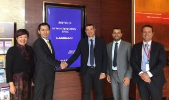 Siglata joint venture, nasce Laminam China