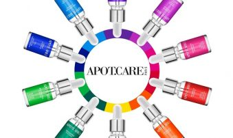 Aquacosmetics porta in Italia Apot.care