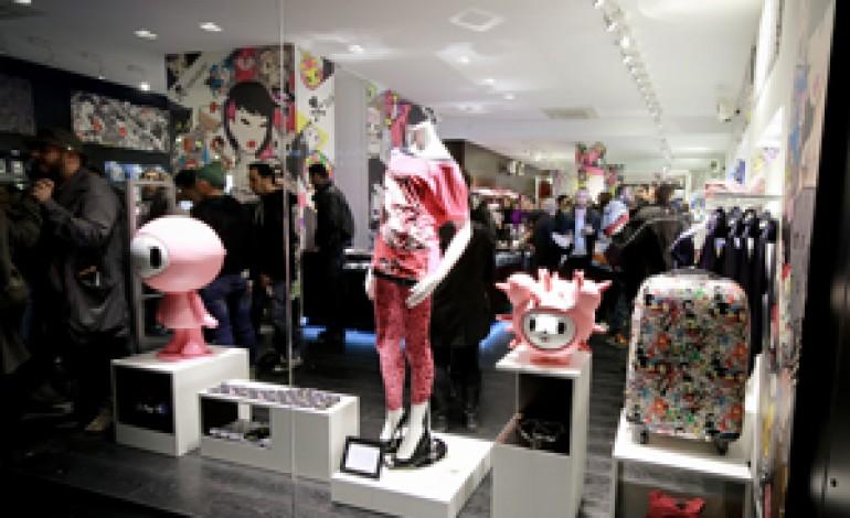 Tokidoki rinnova il concept store milanese